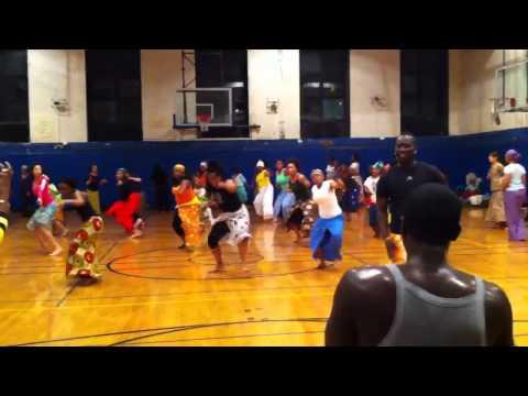 Rich Faye's Sabar Dance Class.