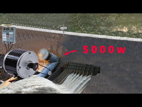 building small hydroelectric dams