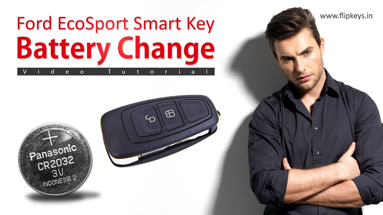 Ford Ecosport Smart Key Battery Change