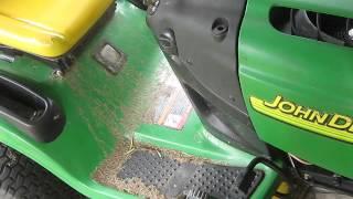 2006 John Deere L118 Lawn mower review