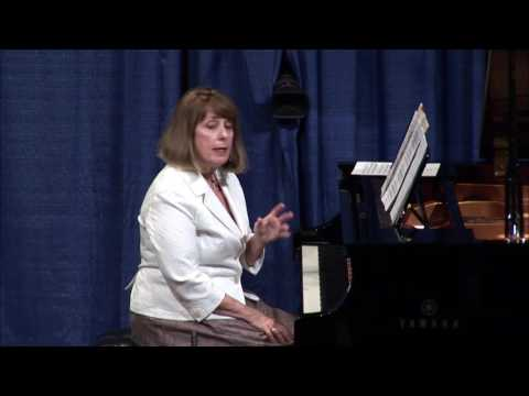 Mary Moran - Navigating the Franck Sonata Movements 3 and 4