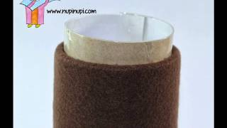 Membuat Celengan Dari Barang Bekas/Lakban