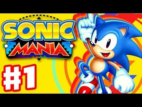 Sonic Mania - Gameplay Walkthrough Part 1 - Green Hill Zone!