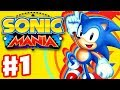 Sonic Mania Gameplay Walkthrough Part 1 Green Hill Zone mp3