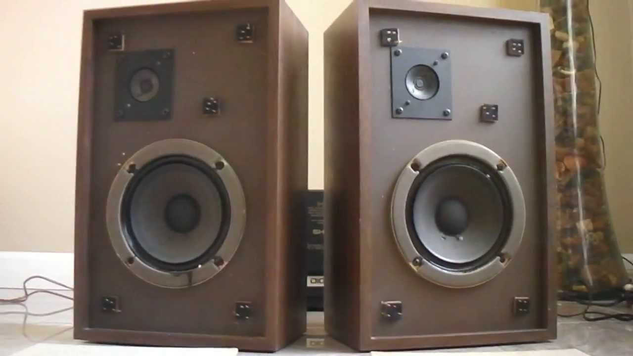 the advent 3 bookshelf stereo speakers youtube. Black Bedroom Furniture Sets. Home Design Ideas