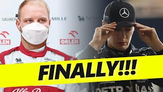 George Russell to Mercedes in 2022 has FINALLY been confirmed!