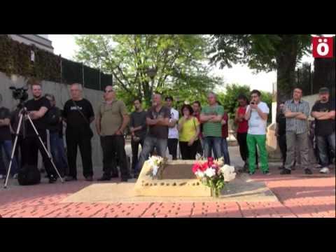 Homenaje a Gladys del Estal en el 35 aniversario de su asesinato