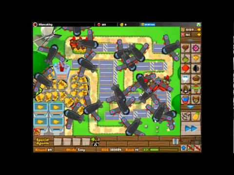 bloons tower defense 5 monkey ace spectre challenge youtube