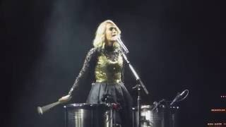 "Carrie Underwood ""Church Bells"" Storyteller Tour 10-17-16 St Paul Xcel Energy Center"
