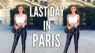 PARIS VLOG DAY 5 & 6   WINE TASTING, EIFFEL TOWER, + WE MISSED OUR FLIGHT?