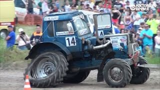 Тракторные гонки в Ростове