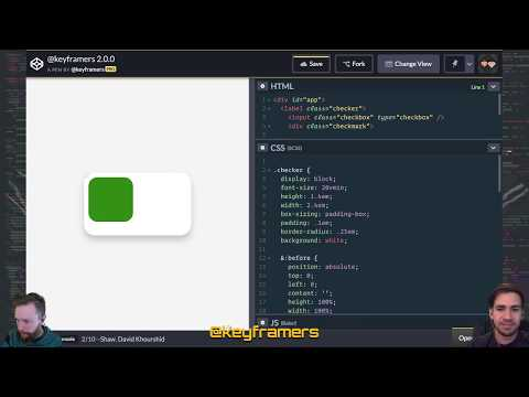 ✅ Springy Switchbox | Checkbox Toggle Animation With CSS | @keyframers 2.0.0