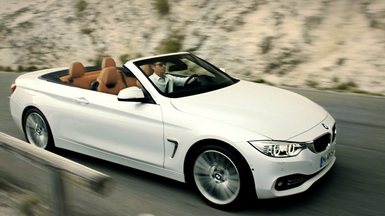 das neue bmw 4er cabrio youtube. Black Bedroom Furniture Sets. Home Design Ideas