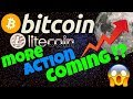 🔥BITCOIN and LITECOIN MORE ACTION COMING !?🔥 btc ltc price prediction, analysis, news, trading