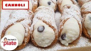 Italian Cannoli Recipe | How To Make Cannoli Shells And Filling