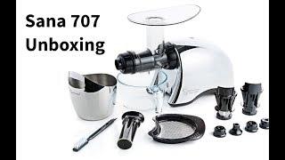 Sana 707 unboxing