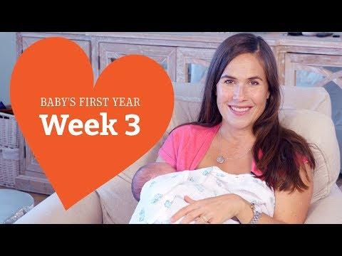 3 Week Old Baby Your Baby's Development, Week by Week