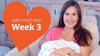 3 Week Old Baby - Your Baby's Development, Week by Week