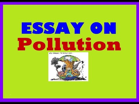 Paragraph on pollution #essay on pollution #paragraph / essay on