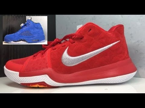 1380f090c80a Nike Kyrie 3 Red Suede