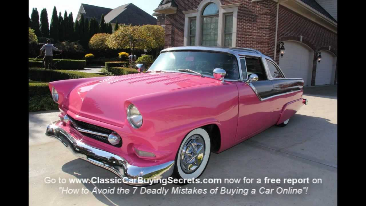1955 ford crown victoria lead sled classic muscle car for sale in mi
