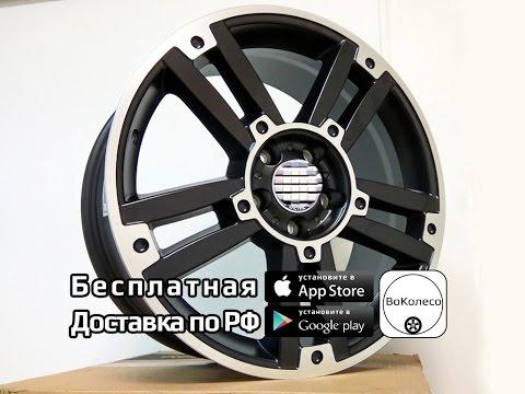 Чёрные диски для Mercedes /// обзор