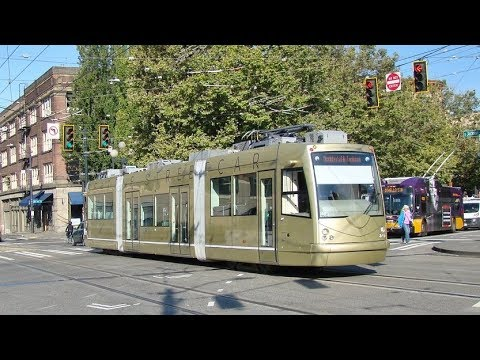 Seattle Streetcar - First Hill Line (09/06/2018)