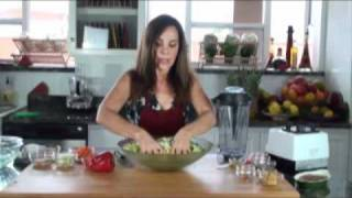Asian Kale And Bok Choy Salad [chef Tina Jo's Recipes]