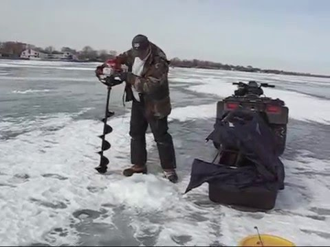 Ice fishing for perch youtube for Ice fishing youtube