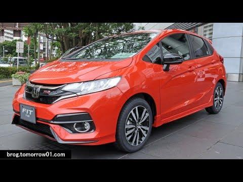 """Honda Fit RS """"Honda SENSING"""" : Orange - YouTube"""