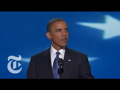 Election 2012 | DNC Convention Coverage and Obama's DNC Speech 9/6 | The New York Times