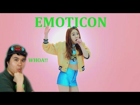 황인선 - 이모티콘(Emoticon) Hwang In sun from Produce 101  REACTION.