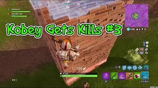 """Lay Here"" - Kobey Gets Kills #3 (Fortnite Battle Royale)"