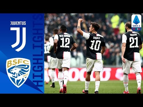 Juventus 2-0 Brescia | Dybala and Cuadrado Score to Beat 10-Man Brescia as CR7 Rested | Serie A TIM