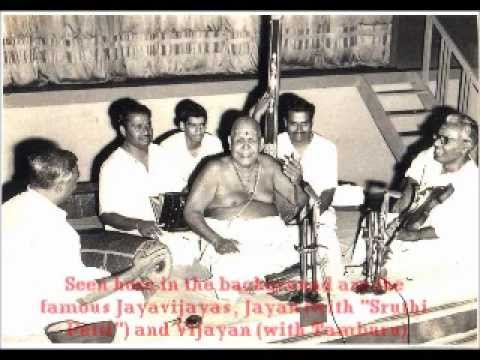 Chembai Swami & Yesudas in concert on Dasettan's 33rd birthday