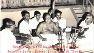 Chembai Swami & Yesudas in concert on Dasettan