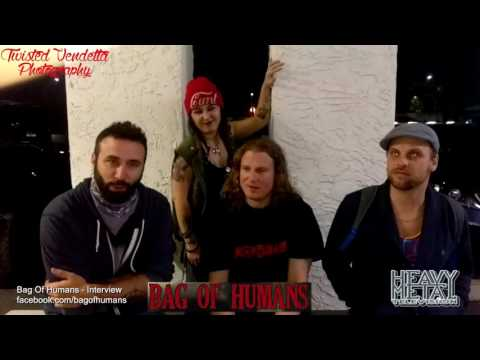 Heavy Metal Television - Sammy Interviews Bag Of Humans