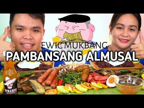 PAMBANSANG ALMUSAL Mukbang / Filipino Food Mukbang / Mukbang Philippines / Collab @Quimpox Vlog