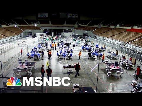Sketchy Pro-Trump Recount Off To Rocky Start In Arizona | Rachel Maddow | MSNBC