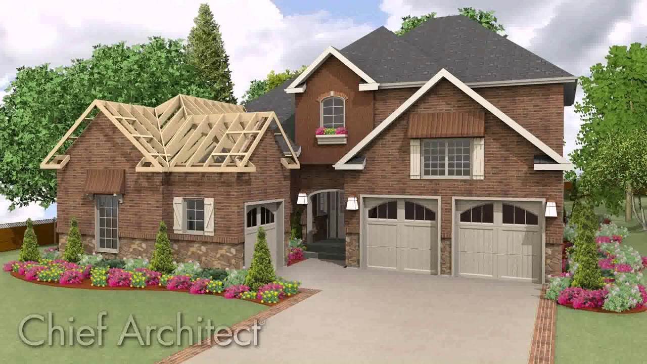 L Shaped House Roof Design
