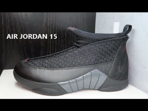 8cb3bd7c6dd7 2017 AIR JORDAN 15 STEALTH RETRO SNEAKER DETAILED REVIEW - YouTube