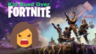 Kid Sued over Fortnite Hacks MOTHER DEFENDS! Maxusthebeast on the Internet