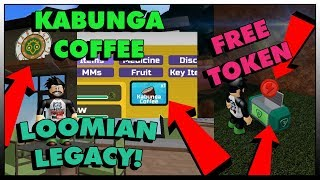 HOW TO GET FREE TOKEN + KABUNGA COFFEE ITEM! IN LOOMIAN LEGACY | ROBLOX