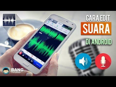 Cara Editing Suara (menghapus Noise) Di Hp Android   WAVEPAD TUTORIAL #1