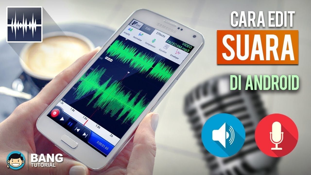 Cara Editing Suara Menghapus Noise Di Hp Android Wavepad Tutorial 1 Youtube