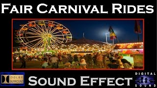 Fair Carnival Rides Sound Effects | CARNIVAL RIDES SFX | HD
