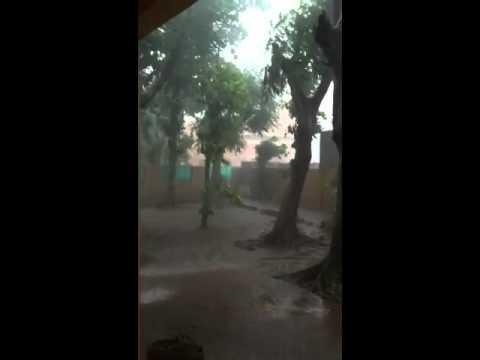 Small rain in Bamako(Mali), 22.09.2011