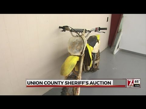 Union County Sheriff auctions stolen, unclaimed and seized items
