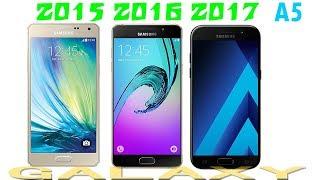 samsung a5 2017 vs a5 2016 vs a5 2015