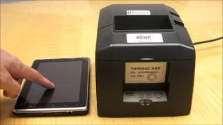 Bluetooth Receipt Printer Compatible With Square